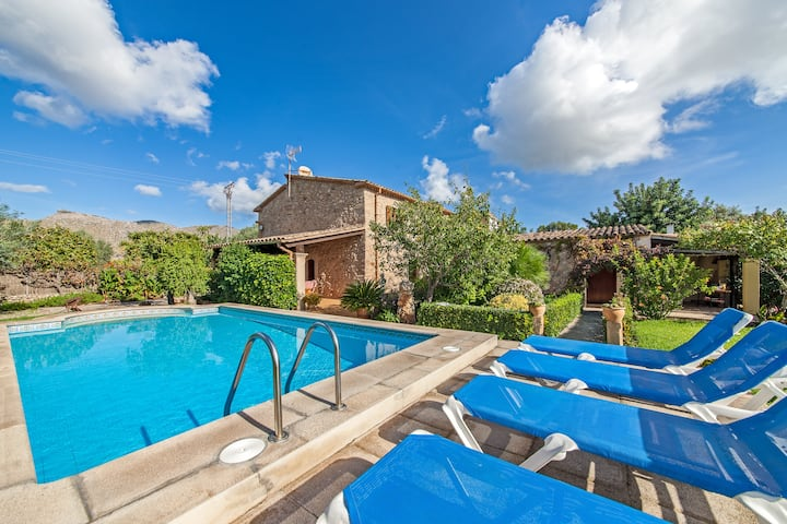 Stone-villa with garden and pool - Villa Can Bandera