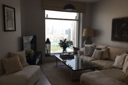 Luxury 2 Bed - Burj Khalifa, Opera & Fountain View - 杜拜