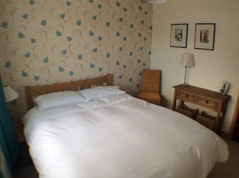 Chambre double confortable, village de Quantock