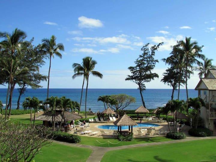 Premium Ocean and Resort Views - 1 Bedroom- Kitchen - Parking Stall  308