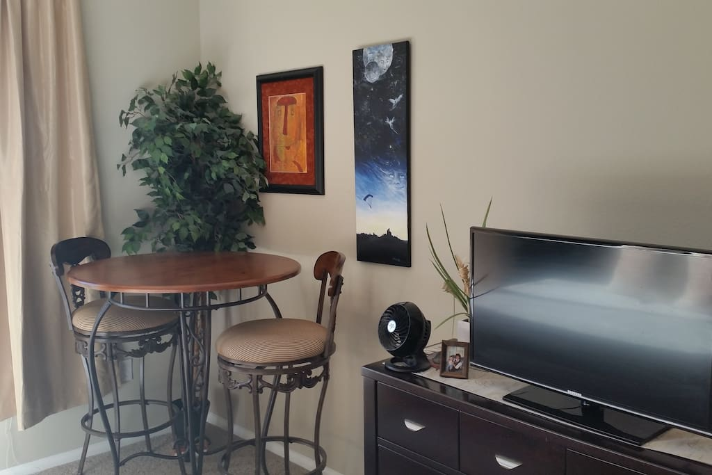 Master bedroom includes TV with full Cable and Wifi