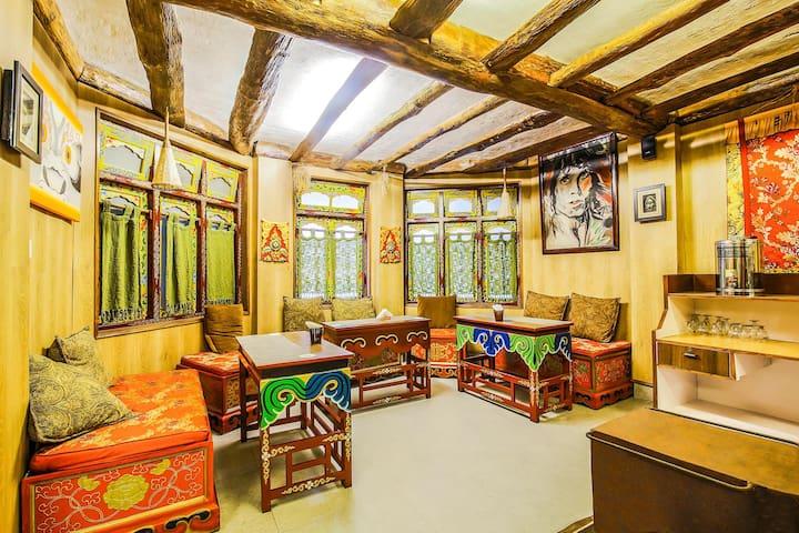Aesthetic Stay in the land of Tibetan Buddhist center @Vishal Gaon, Gangtok