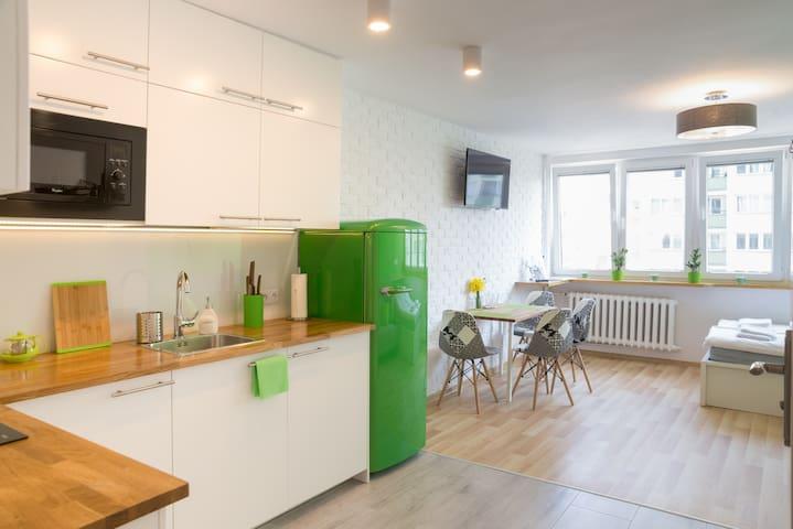 GREEN Studio in the HEART of Warsaw
