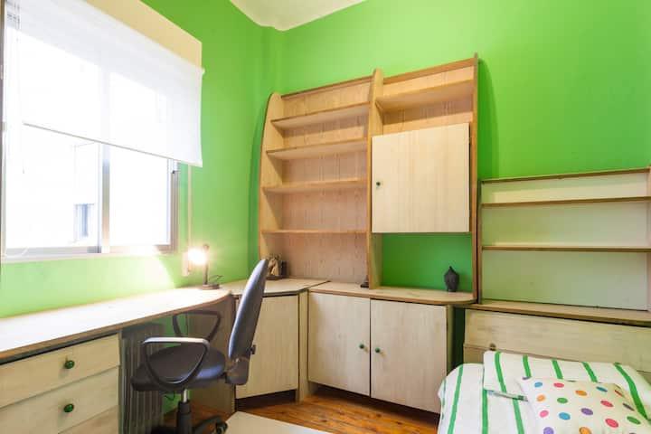 Habitación con muy buena energia