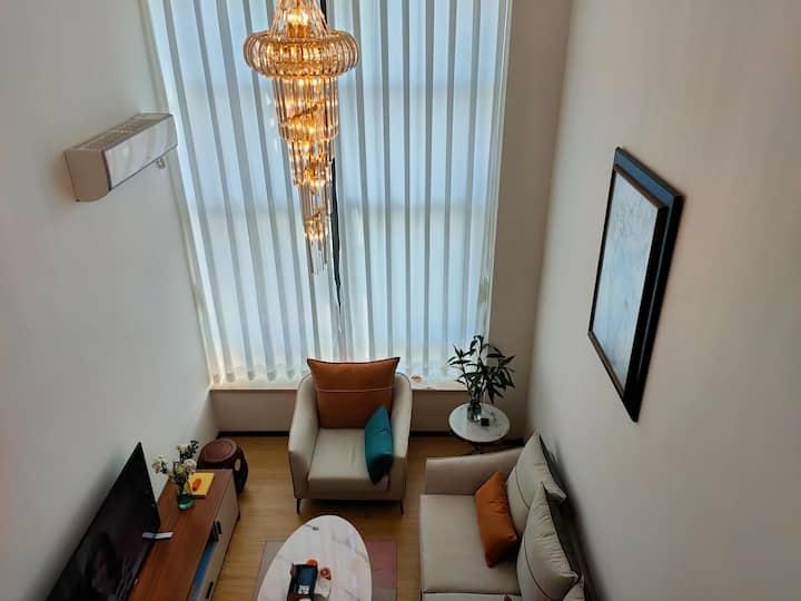 红山6979国际公寓,这是次卧房间