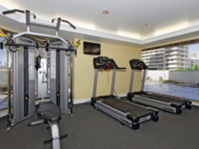 Workout facility