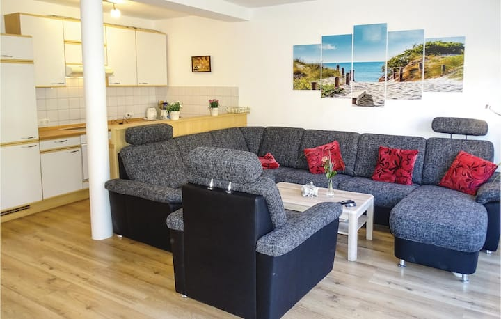 Stunning home in Wismar with 1 Bedrooms