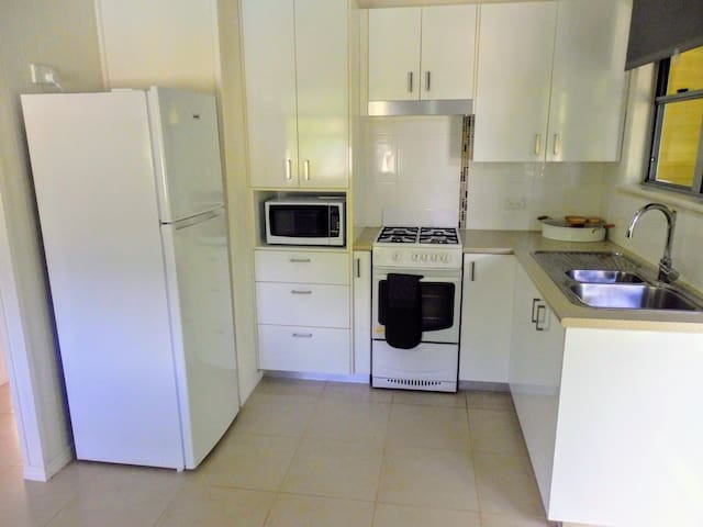 Fully self contained kitchen.