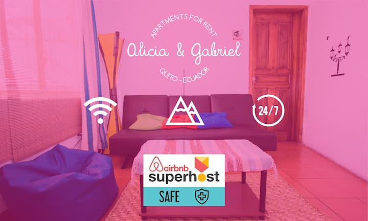 Comfortable apartment great bus connection