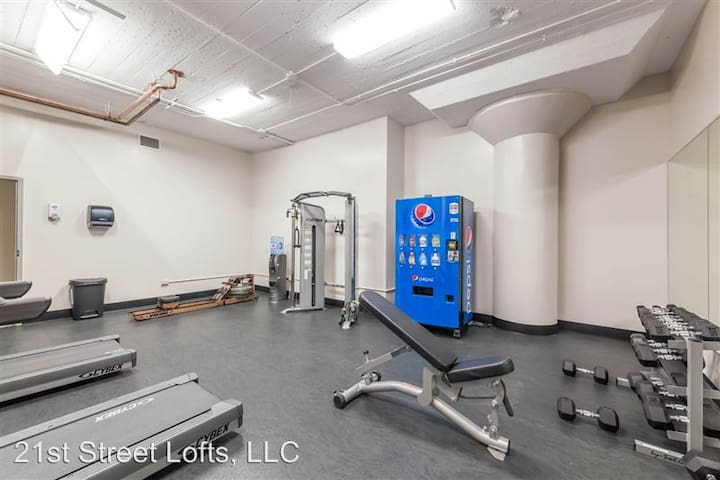 Gym for when you want to workout!