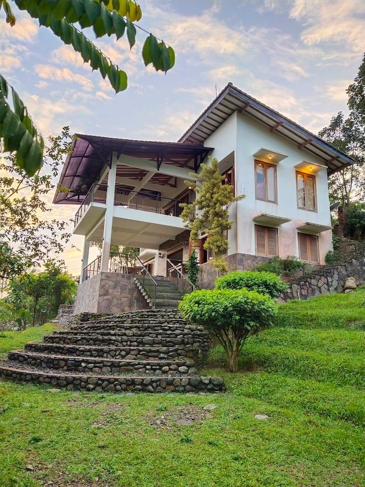 Family villa at Imah Picung