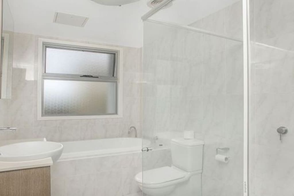 Guest Room has an ensuite Toilet with Bath & Shower