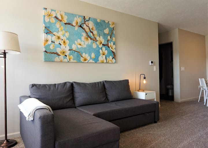 Lake Erie Staycation - 2 Bed/2Bath Condo w/ Private Garage
