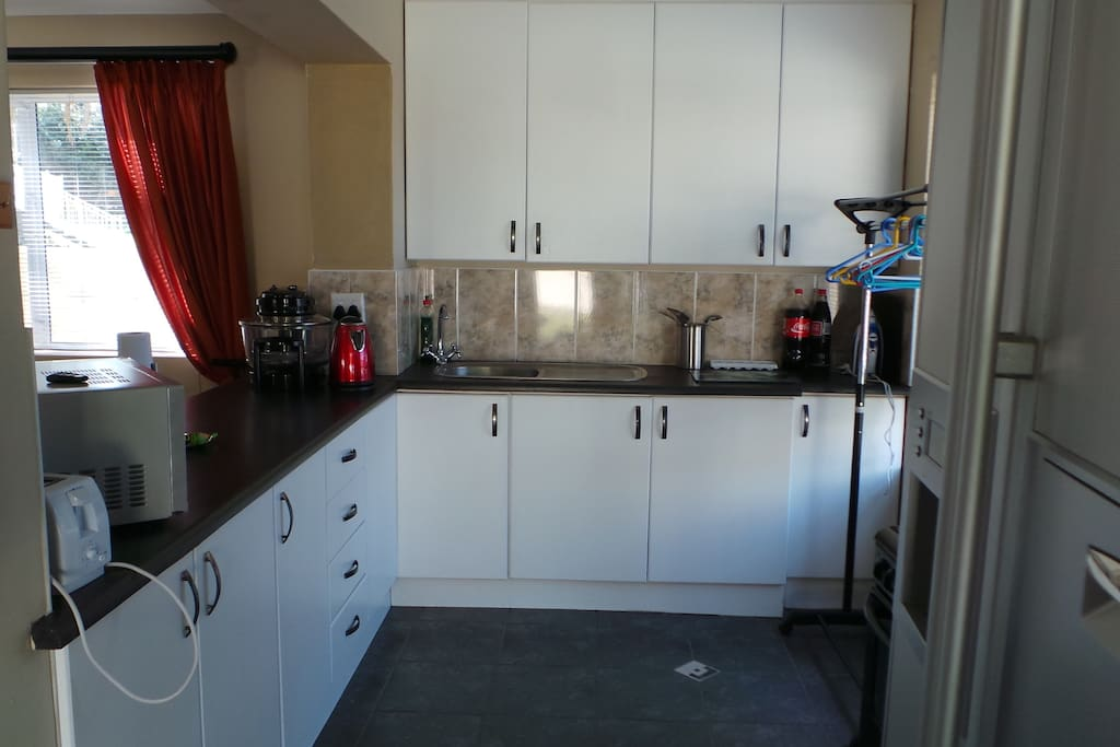 Fully equipped kitchen with all amenities
