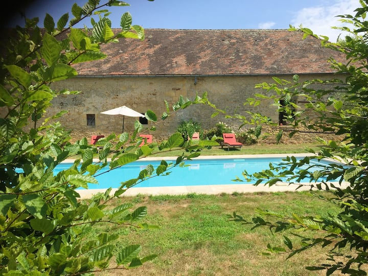 Villa with 4 bedrooms in Domme, with private pool, furnished garden and WiFi