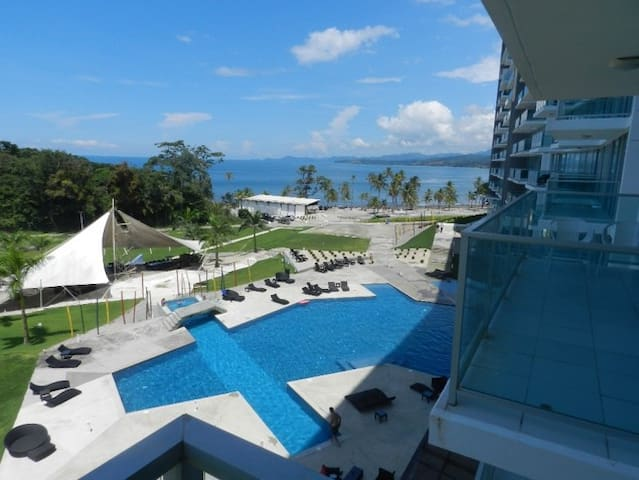 Great Beach Apartment by the Caribe Sea in Panama - Maria Chiquita - Apartamento