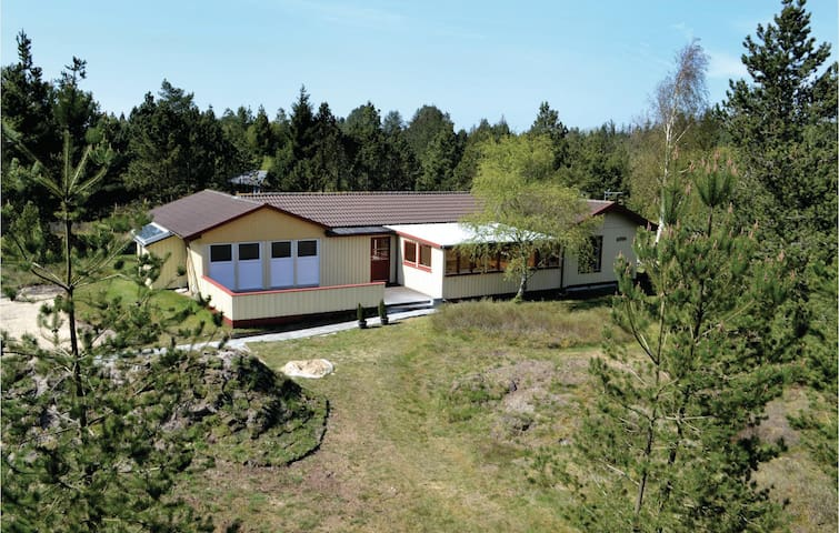 Holiday cottage with 4 bedrooms on 126m² in Oksbøl