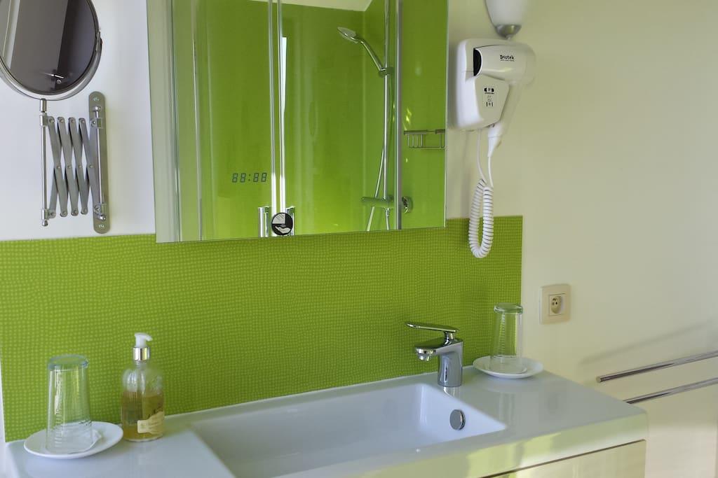 Salle de bain privative Aurore