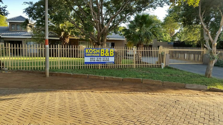 Klerksdorp guesthouse accommodation