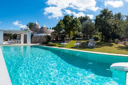 Trulli with Private Pool - Ceglie Messapica