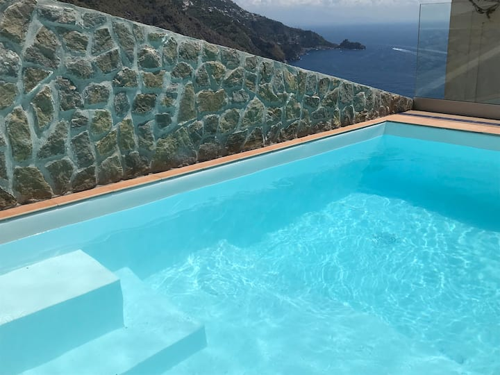 Villa Aristide Praiano Amalfi Coast SWIMMING POOL