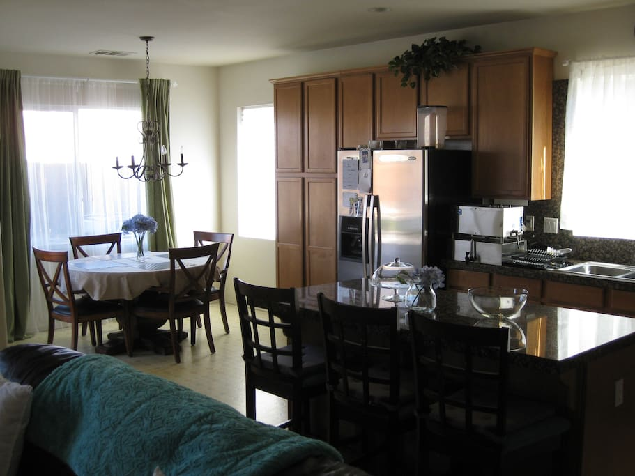 Kitchen Great for entertaining Living Room Guests