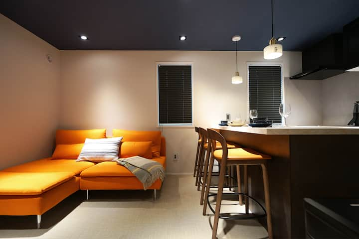 Real Life AOYAMA 1BR suite 2 double bed 3min metro