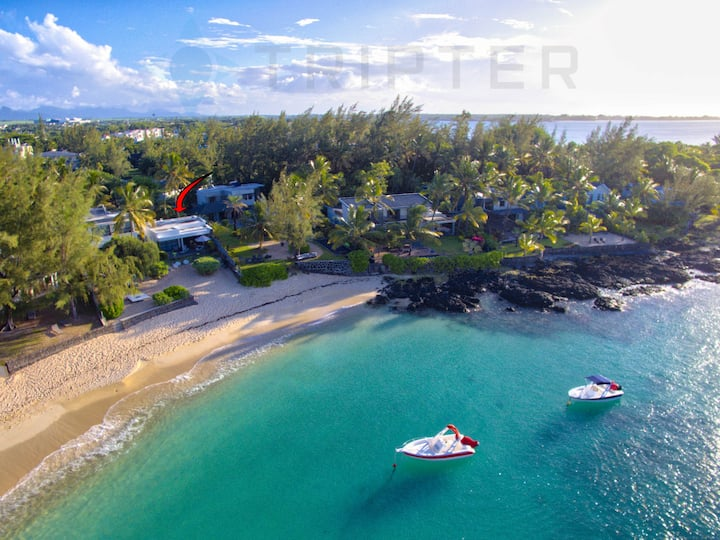 2BR Casva #2 on Serene Beach with maid/cook