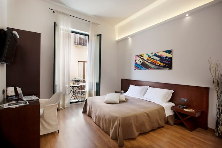 Apartment with 1 bedroom and balcony in Hotel