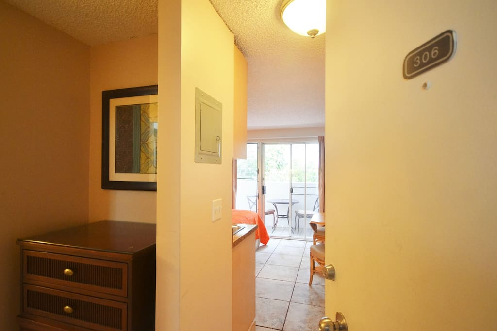 Entrance view upon entering the unit