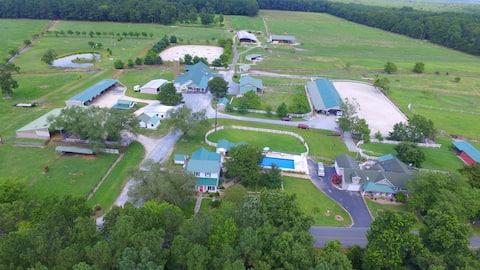 Charming Farmhouse located  on a Horse Farm