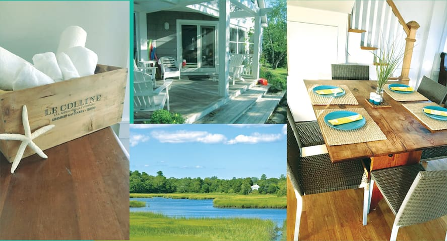 Renovated 4 B/R home on the water with great views