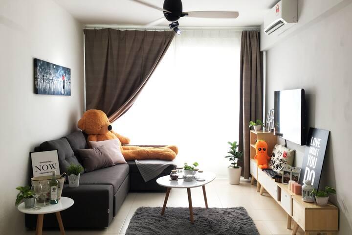 北•欧 ‖ Scandinavian Room @ Batu Kawan