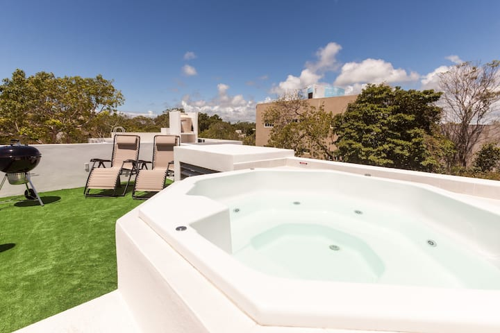 Casa Coral 1  Prívate Roof&Jacuzzi/12ppl-up to 24*