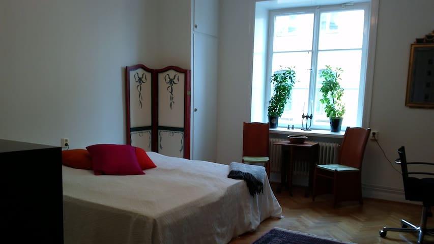 Spacious room in Central Stockholm - Estocolm - Pis