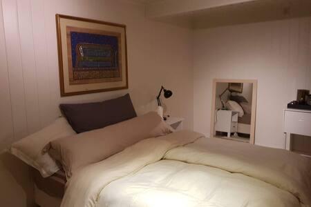 Solheim Bed and Breakfast -  Rom med dobbelseng