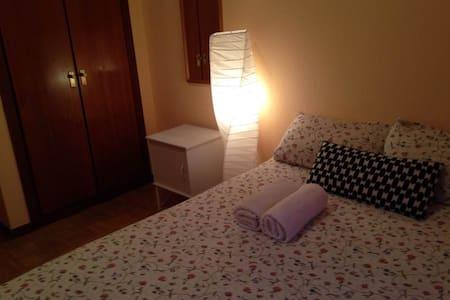 Habitación con cama de matrimonio - Madrid - Wohnung
