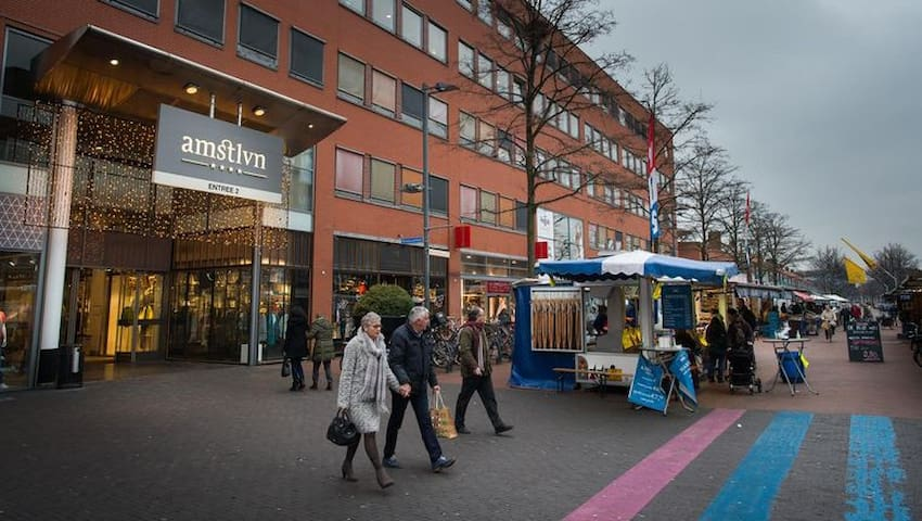 Best Shopping Mall of NL, duplex apprtmnt 120 m2