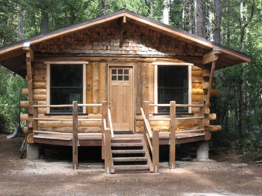 Geronimo cabin eco reserve cabins for rent in nevada for Cabin rentals in nevada