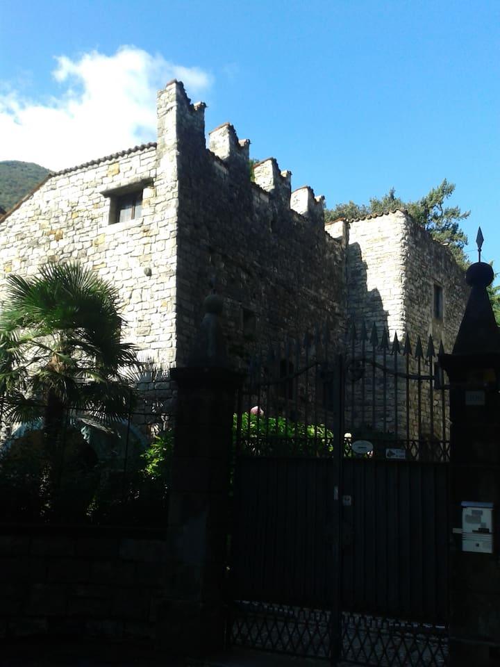 Scorcio del borgo medioevale