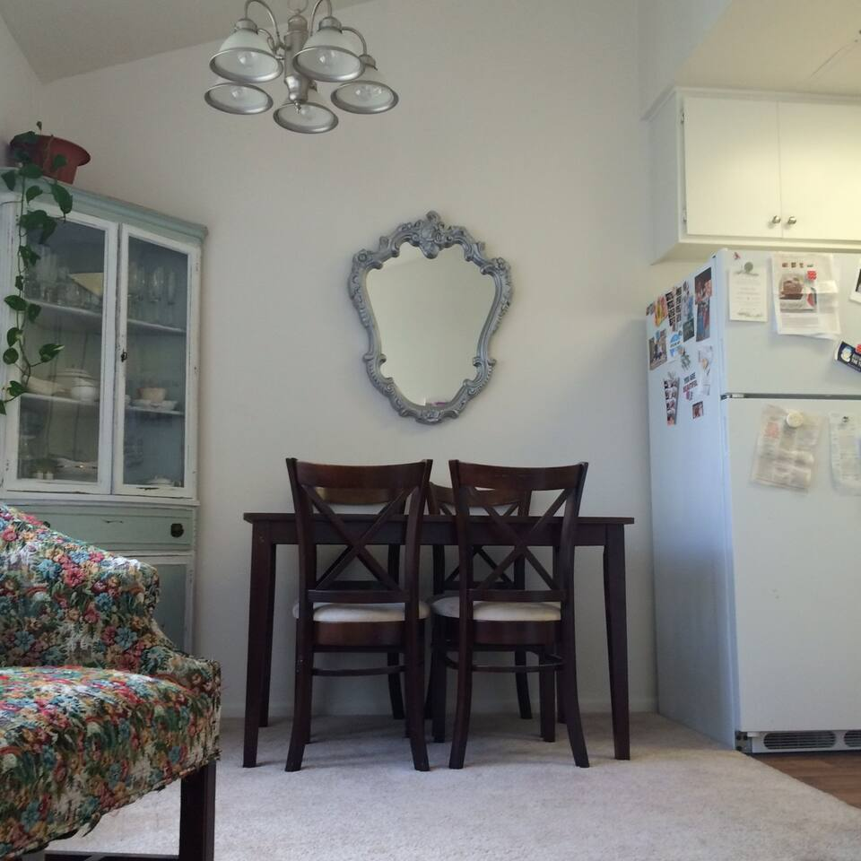 Dining Room with table for 4