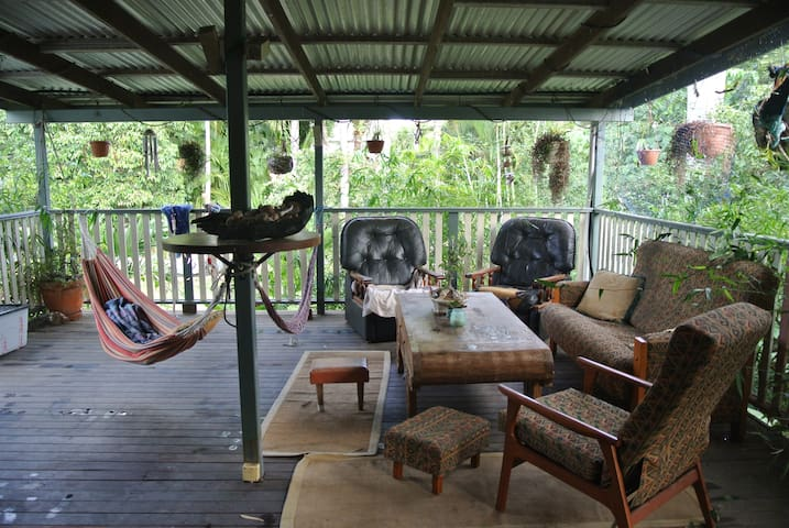 Old Queenslander with charm and beautiful garden