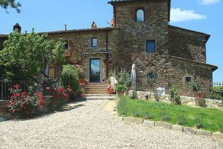PANORAMIC HOUSE 4 PEOPLE - Panzano in Chianti