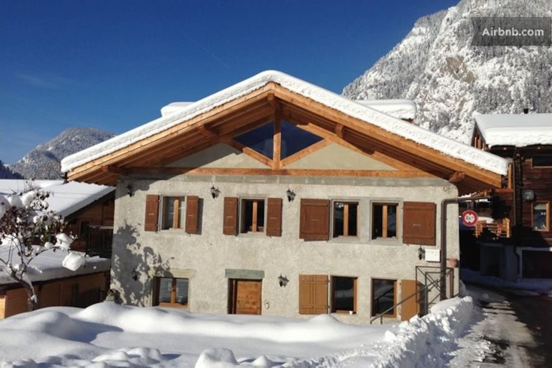 swiss ski chalet le chable verbier chalets for rent in villette