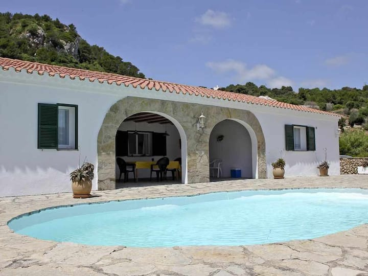 Country house with pool and panoramic views in El Toro for 8 + 2 people