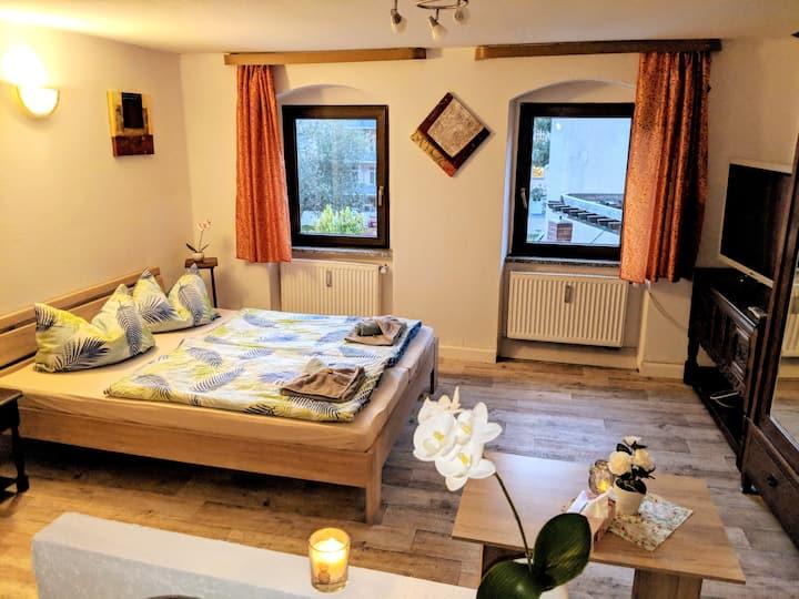 Familienwohnung mit Sauna