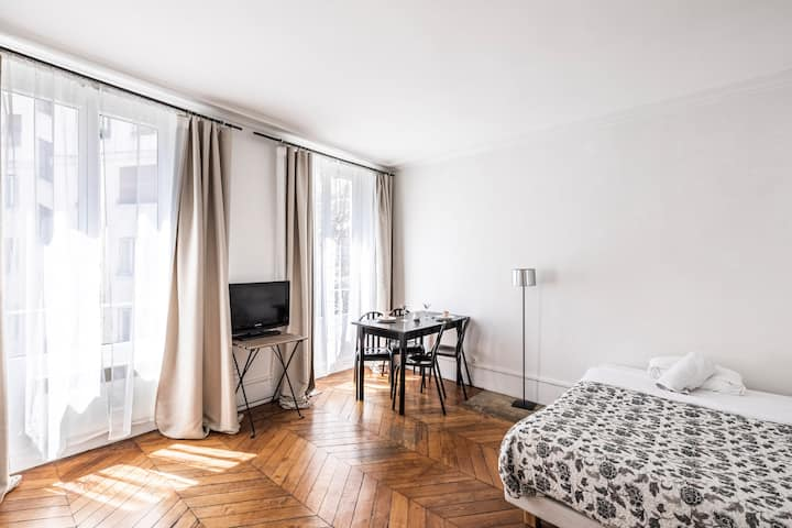 Charming Studio Opéra - Mobility Lease students & pro