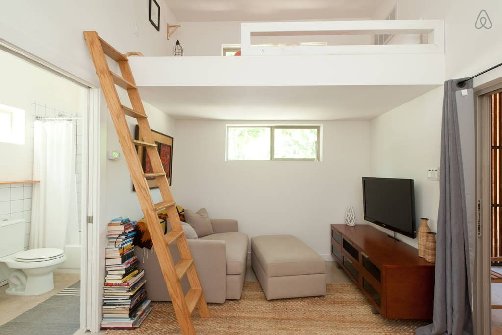 Brilliant amount of natural light