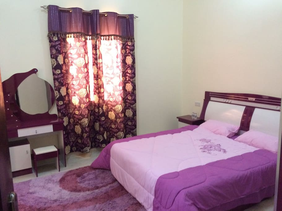 Double bed room with new furniture