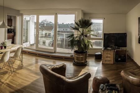Rooftop Apartment in Kreuzberg